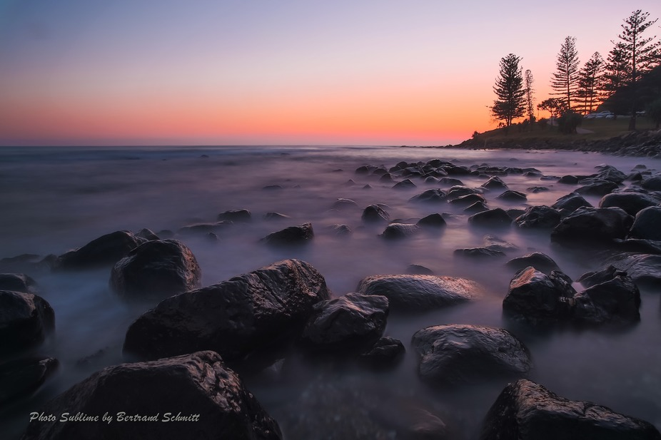 Sunrise at Burleigh Beach