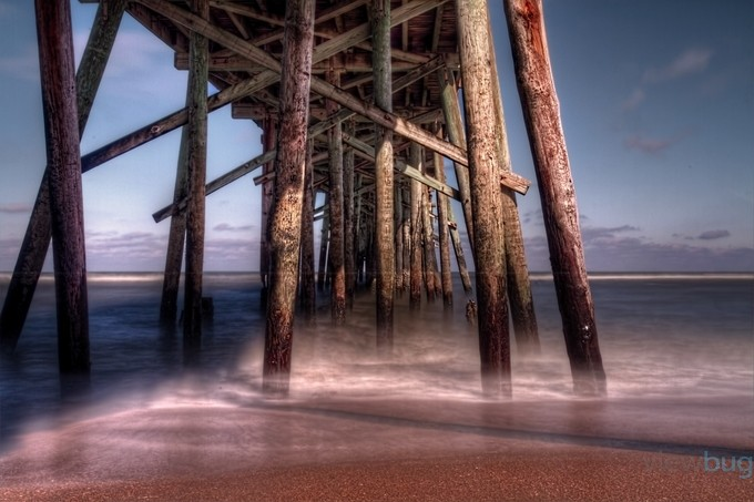 Flagler Pier Florida by David-B - The Magic Of Moving Water Photo Contest