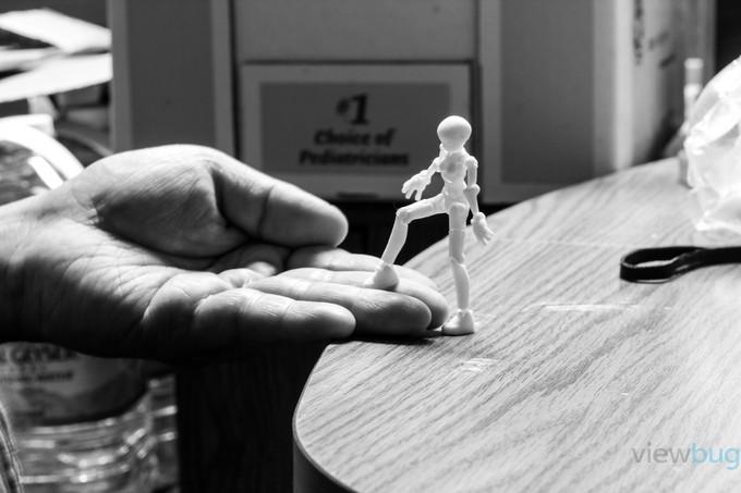 Trust (black/white) by amoeba - 300 Toys Photo Contest