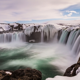 Goðafoss (Icelandic: waterfall of the gods or waterfall of the goði) is one of the most spectacular waterfalls in Iceland. It is located in...