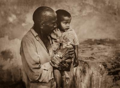Rajasthani_Granfather_Son