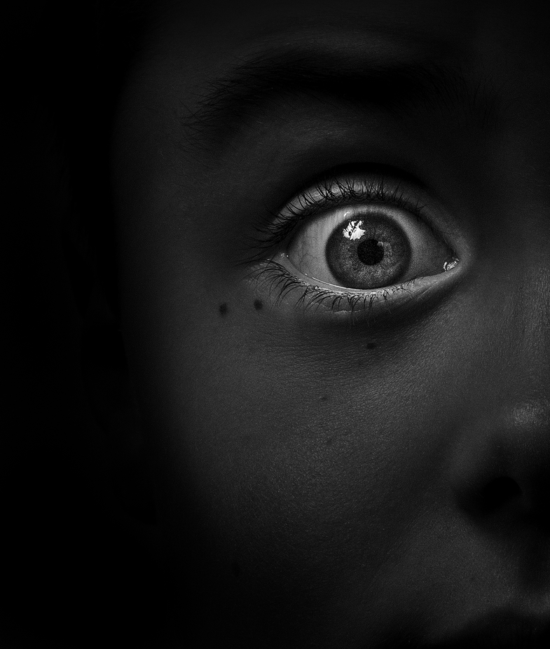 I know what you did ! by 800ISO - Dark Portraits Photo Contest