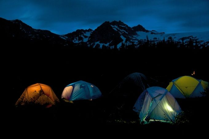 Tents by robrichardson - Outdoor Camping Photo Contest