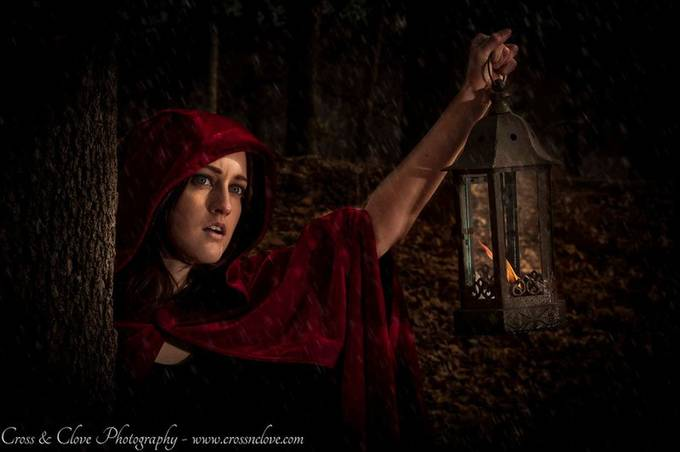 Red Riding Hood by crossandclovephotography - Fantasy In Color Photo Contest