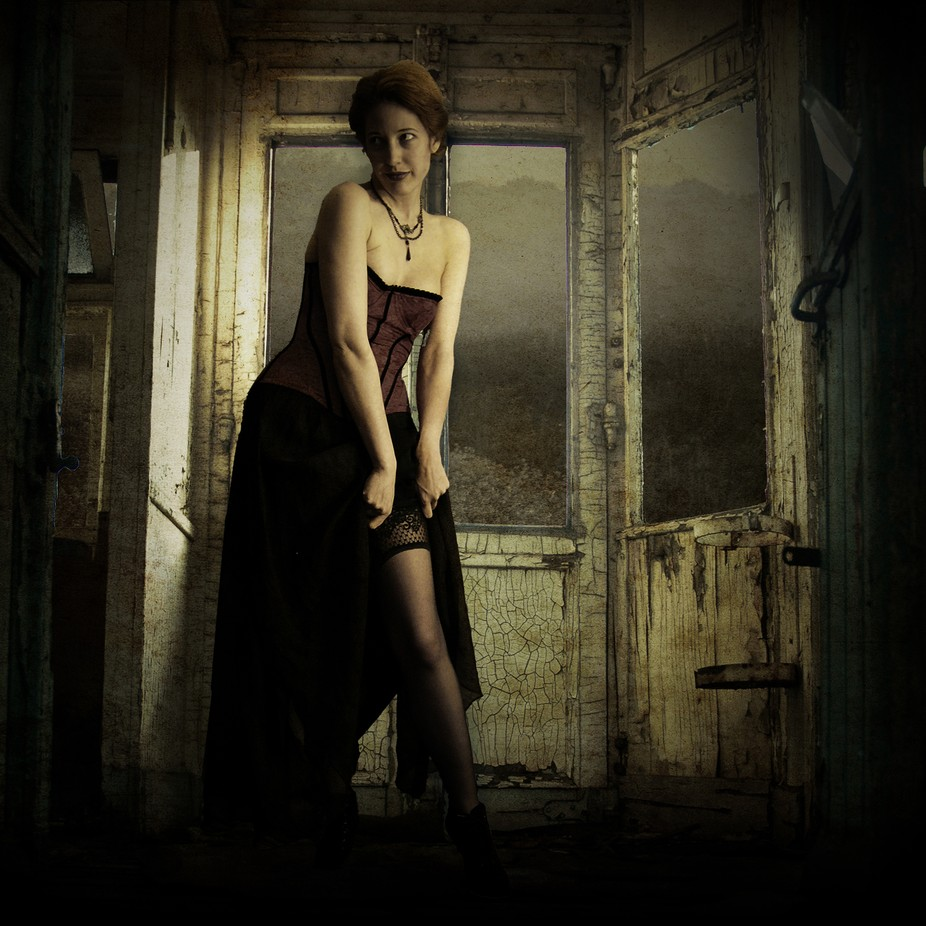 I used a stock of lockstock (model) on DeviantArt for this photomanipulation.  All other material...