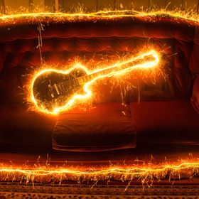 Electrifying guitar!!!
