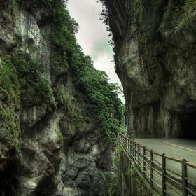 Somewhere deep inside Eastern Taiwan.