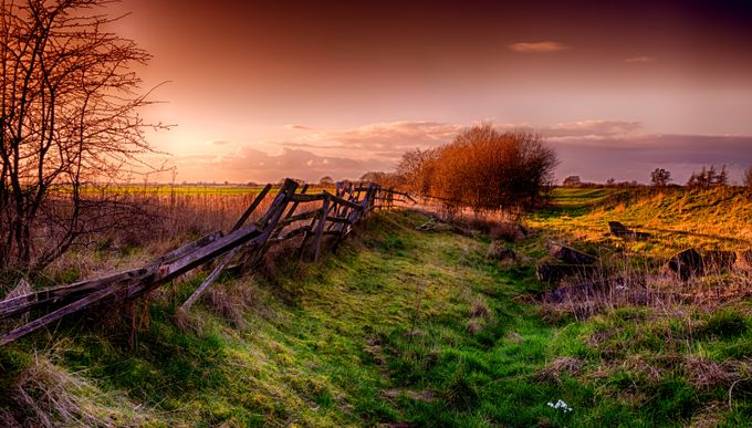 Broken Fence by Bob-Riach - Fences Photo Contest