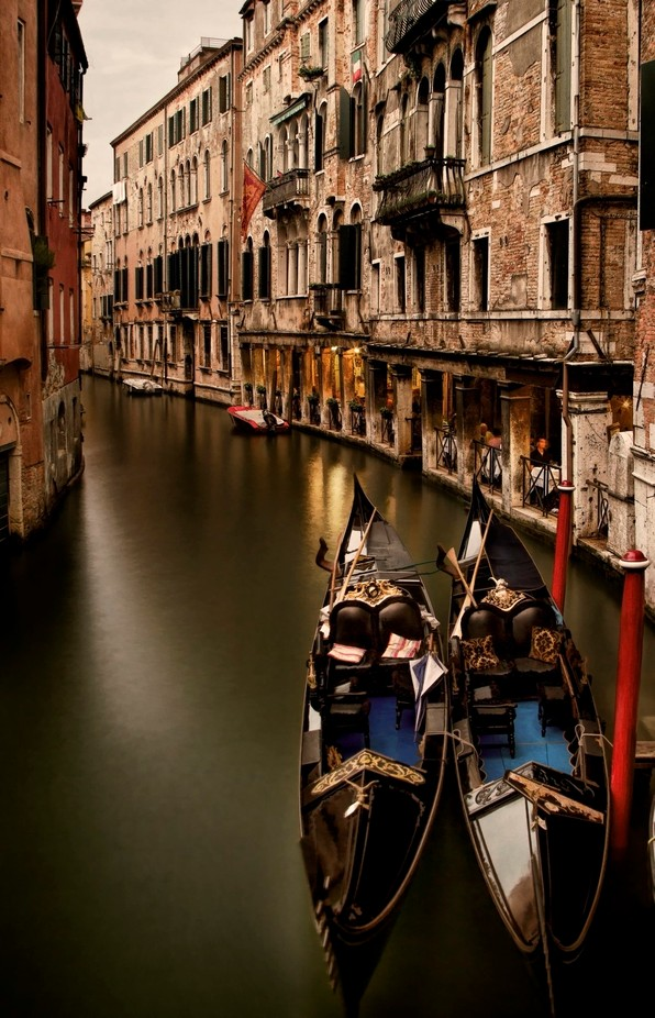 Dinner in Venice by WSargent - Discover Europe Photo Contest