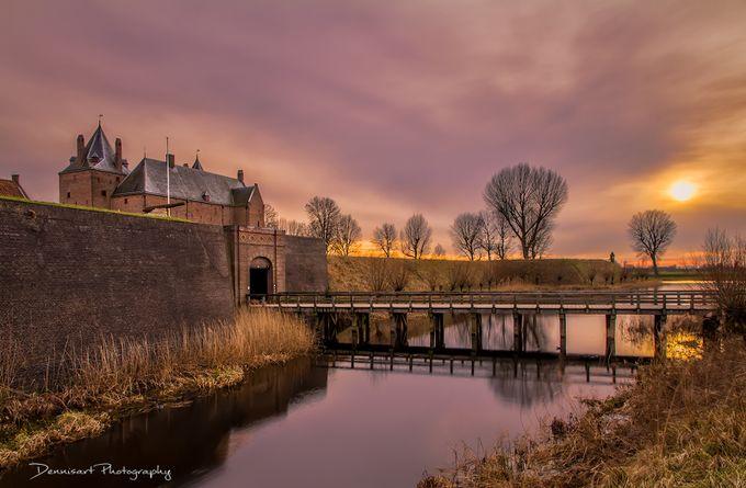 Sundown @ Slot Loevestein by DennisartPhotography
