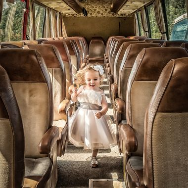 I can only imagine what fantasies were going through her head as she had the entire run of the bus.