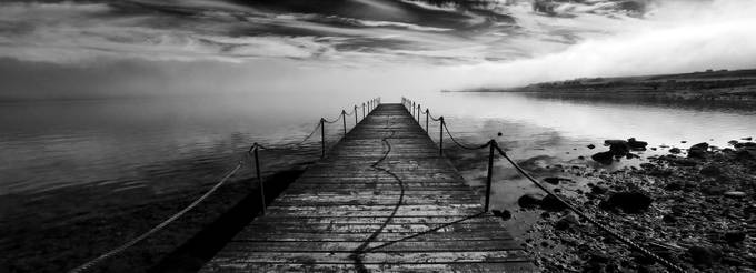 Morning mist by dcarasso - Boardwalks Photo Contest