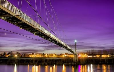 Footbridge of Agen - France