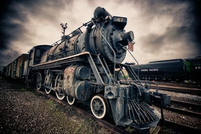 Steamtown Locomotive