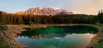Glowing Dolomites