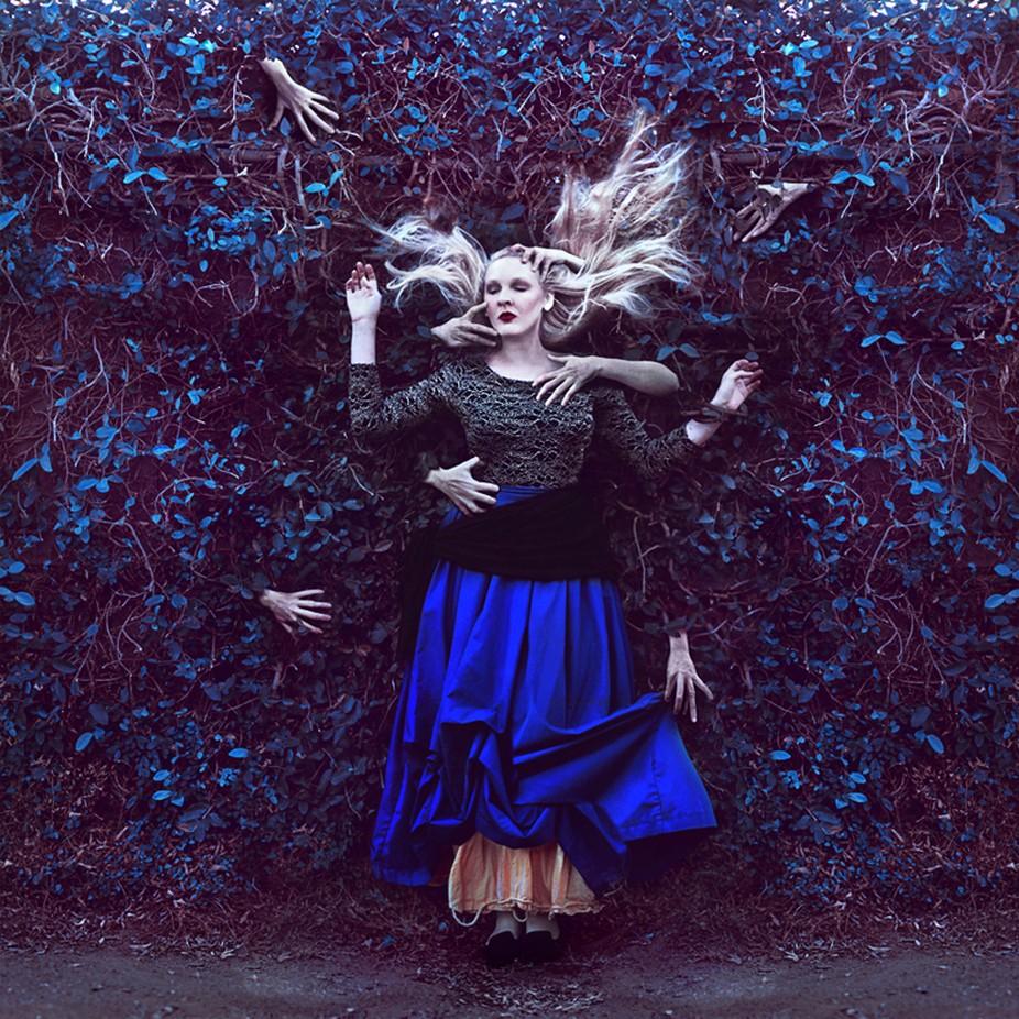 the wine colored dream by sparkbearer - Dark Portraits Photo Contest