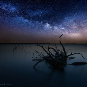 www.HomeGroenPhotography.com  Composite of two shots, both taken in South Dakota. Sky exif - 30 sec f2.8 3200iso foreground exif - 500 sec f2.8 1...