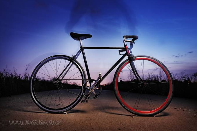 Bike&GhostRider by LukaszLisiecki - Experimental Photography Project