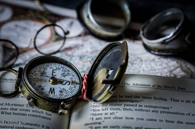 Where the Compass Points by LMImages - Adventure Bound Photo Contest