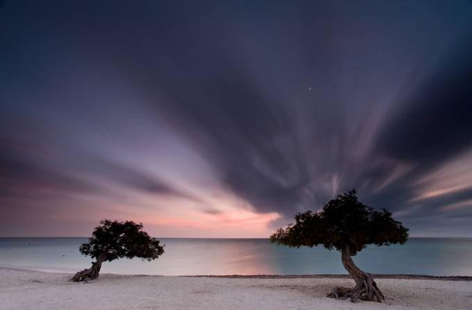 Aruba by Leon213 - Cloud Painting Photo Contest
