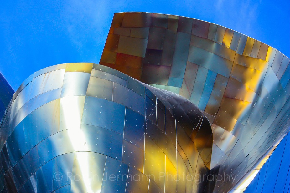 The EMP on a beautiful day in Seattle