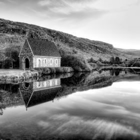 Taken in Gougane Barra , Co. Cork, Irleand at 6 o'clock in the morning :-)