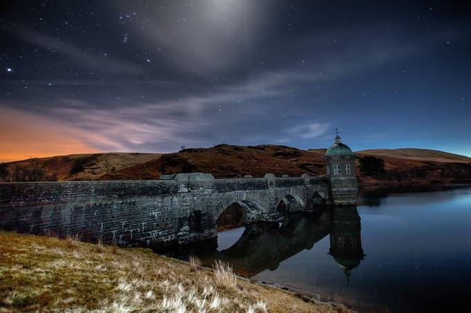 Elan Valley at Night by philowen - Night Wonders Photo Contest