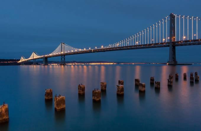 Bay Bridge by AlejandraDodge - Light On Water Photo Contest