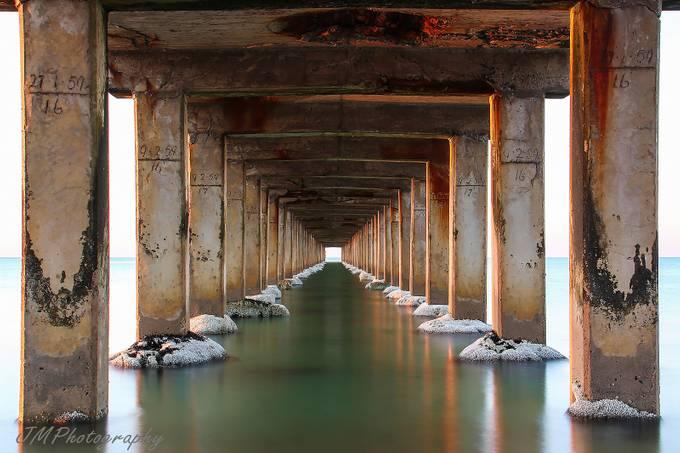 Dromana Pier (Mornington Peninsula, Victoria) by joe_menggolo - The View Under The Pier Photo Contest