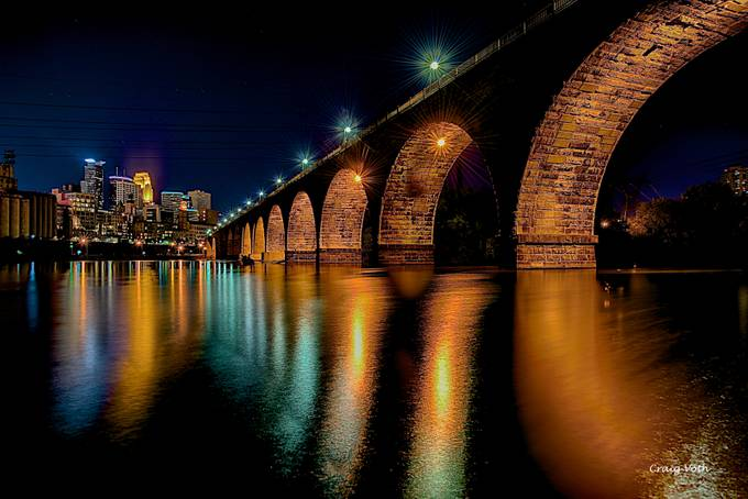 Stone Arch Bridge by lakevermilionphotos - Under The Bridge Photo Contest