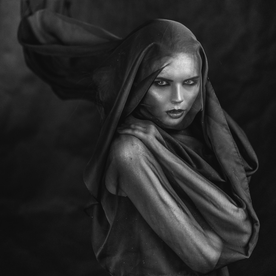 Goddess of Destiny by LaimaKavaliauskaite - Dramatic Portraits Photo Contest