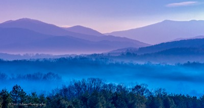 The Appalachians at Sunrise