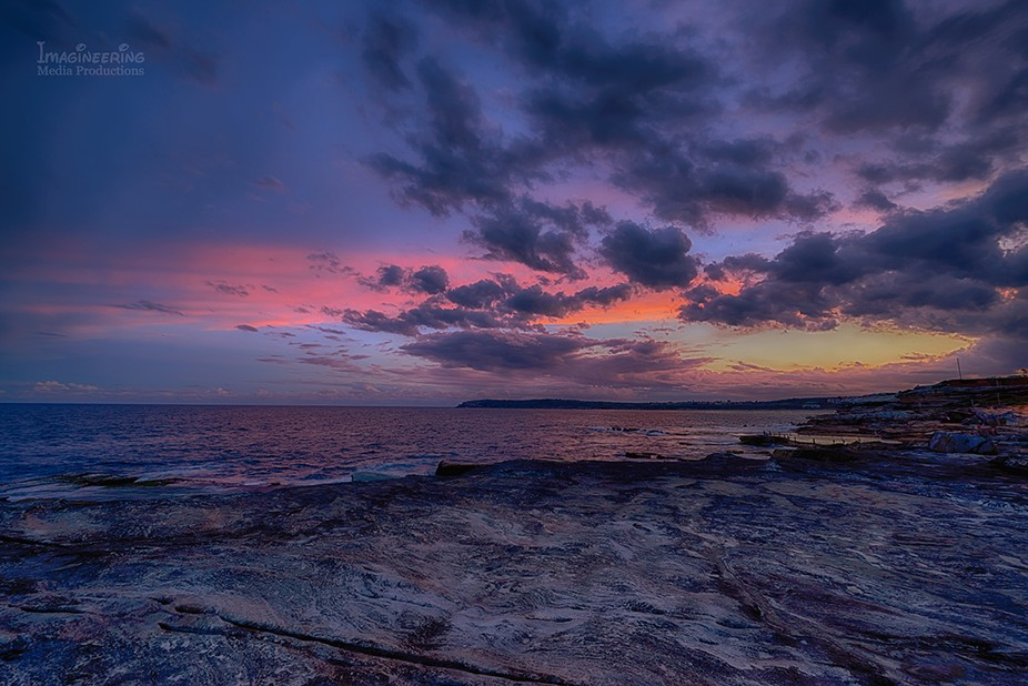 Taken at the blue hour at Maroubra NSW.