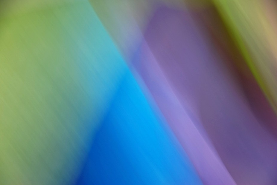 This image was created by panning the camera over colored tissue papers.