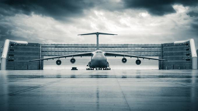 C5 Galaxy by ChristopherLH - Shapes and Lines Photo Contest