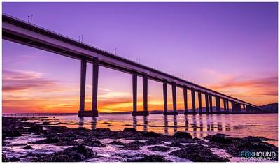 The Tay Road Bridge, Dundee