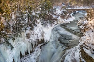 Upper Taughannock Winter
