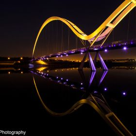 A calm night on the River Tees
