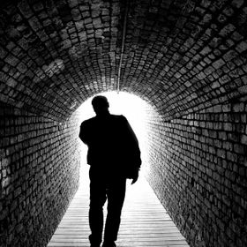 I was exploring tunnels with my family one day and my father was walking ahead of me. I saw the light silhouetting him and I knew my moment was e...