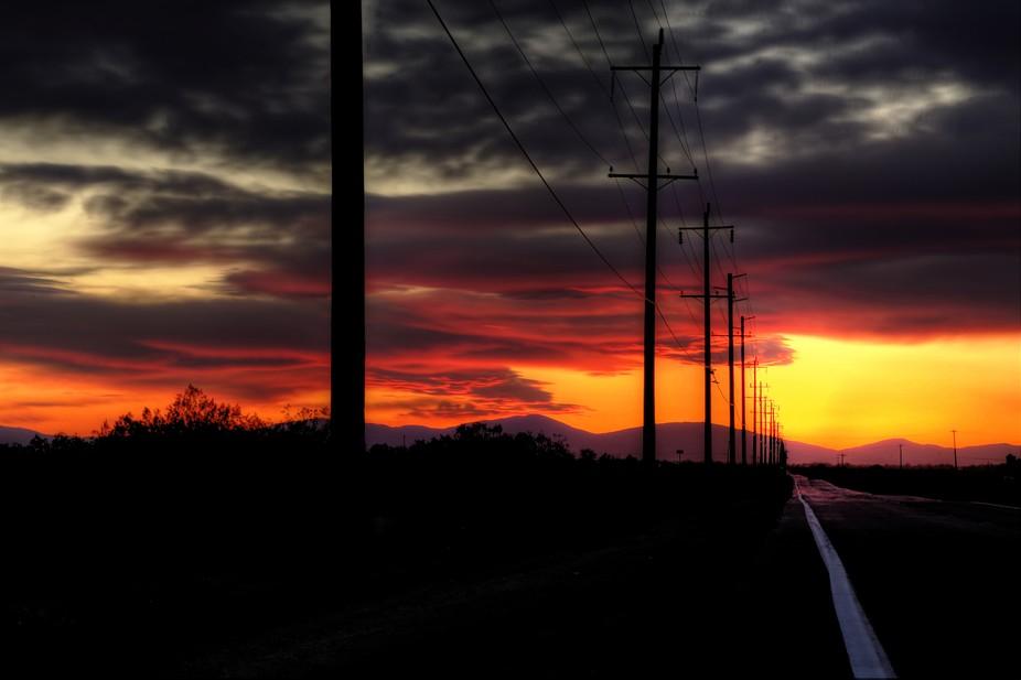 Tequlia sunset
