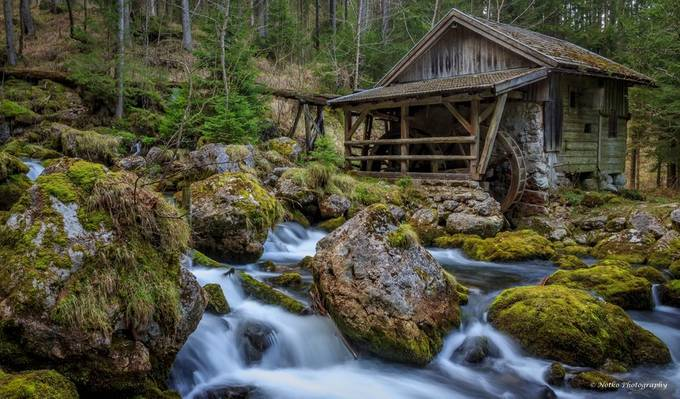 Gollinger Mill by Notko - Photofocus Feature Photo Contest Volume 1
