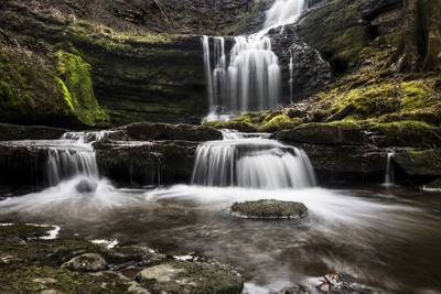 Scaleber Force, near Settle, Yorkshire.