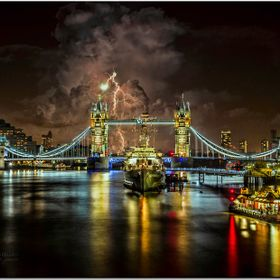 Tower Bridge and the HMS Belfast new edition