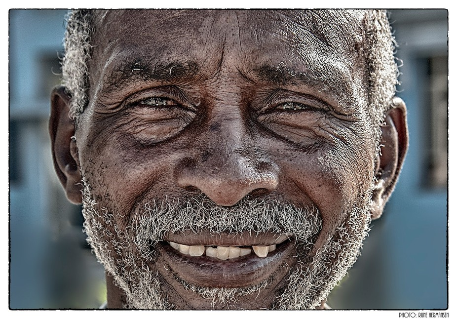 We met this man and in Sancti Spiritus. He was originally from Angola and he was 43 years old he ...