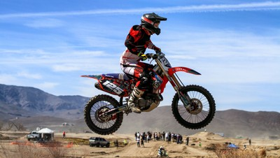 Flying High on Two Wheels