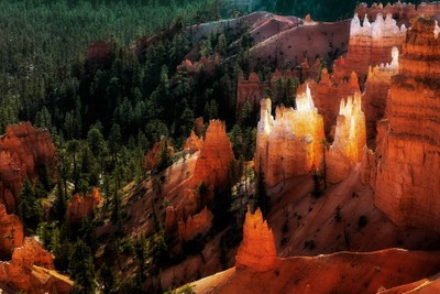 Scenic View Bryce Canyon