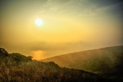 Praa sands sunset