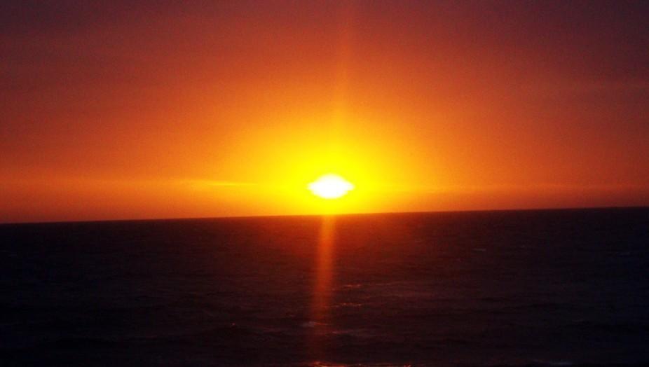 Australian Sun Set