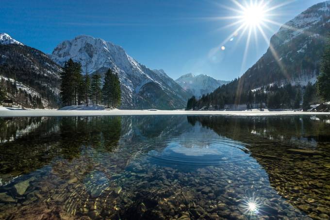 Lago del Predil by ManuelFerlitsch - Sun Flares Photo Contest