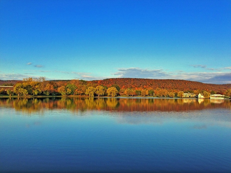 Taken at Eldridge Park in Elmira, NY in the Fall of 2013.